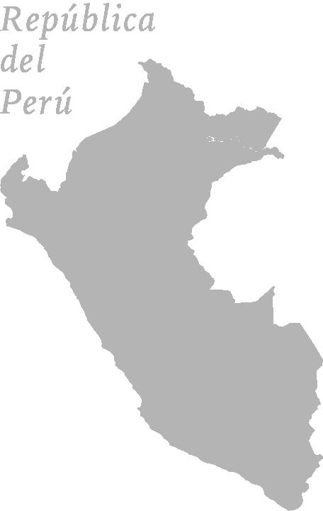 南米ペルー地図